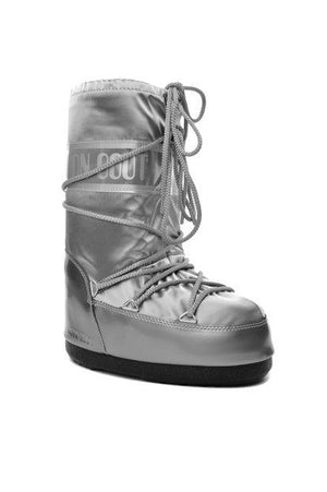 Moon Boot Women's LifeStyle 14016800 002 Silver After Ski