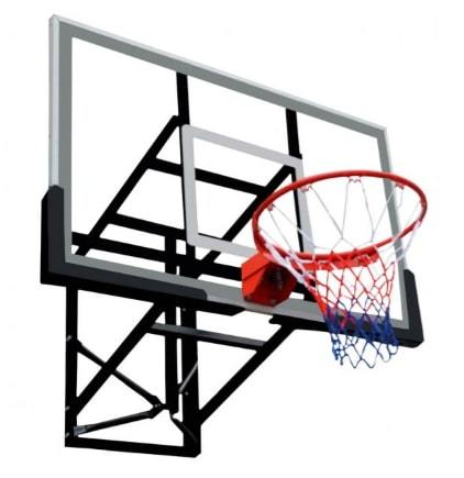 Fitness Factory Equipment Bb-030 Basket Ball Back Board Black/transparent
