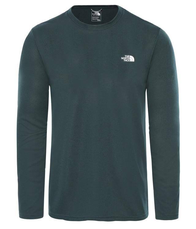 The North Face Men Training Nf0A2Uad-Dw2-1 M Rea Amp L/S Cr-Eu Ponderosagrnhtr