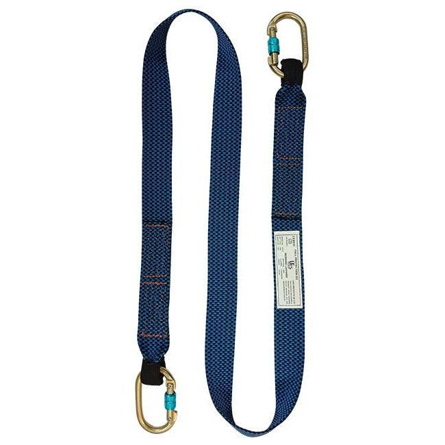 1 Point Full Body Harness and Webbing Lanyard