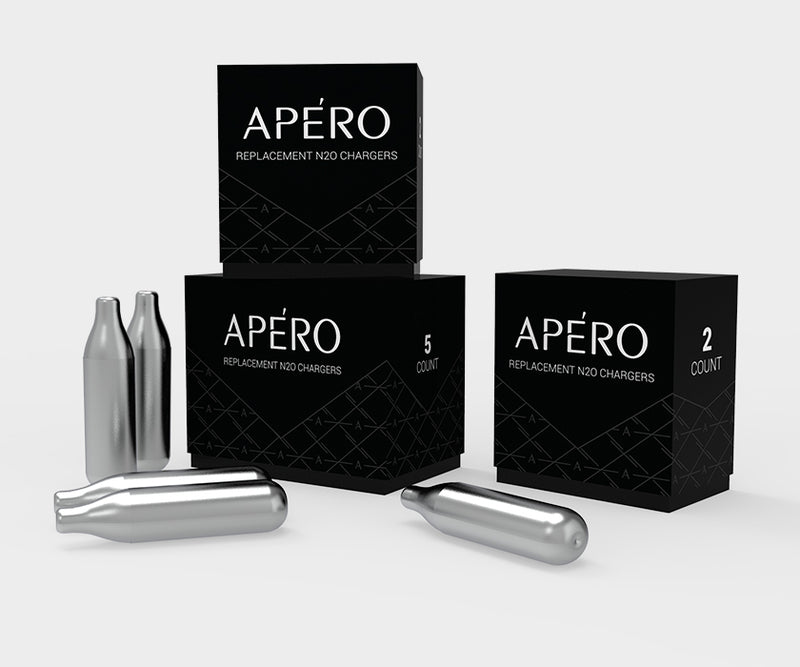APÉRO N₂O Replacement Chargers