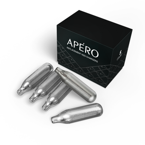 5 Pack APERO N₂O Replacement Nitrous Oxide Chargers