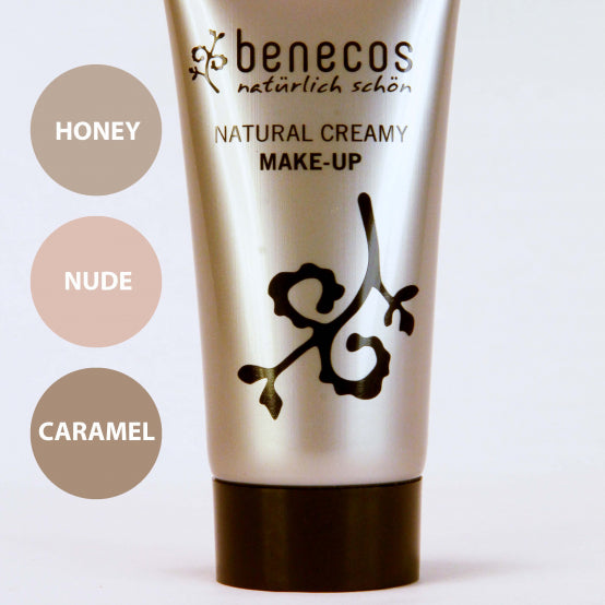 BENECOS NATURAL CREAMY MAKE-UP, CARAMEL