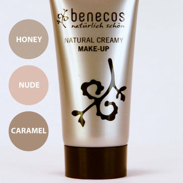 BENECOS NATURAL CREAMY MAKE-UP, NUDE