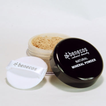BENECOS NATURAL MINERAL POWDER, LIGHT SAND