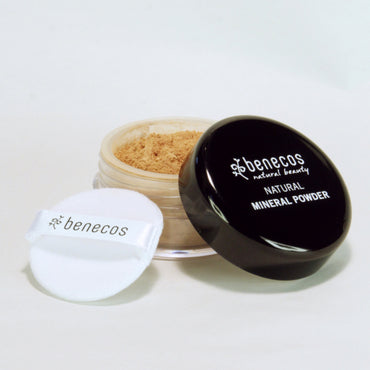 BENECOS NATURAL MINERAL POWDER, MEDIUM BEIGE