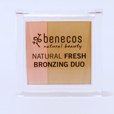 BENECOS NATURAL FRESH BRONZING DUO, CALIFORNIA NIGHTS