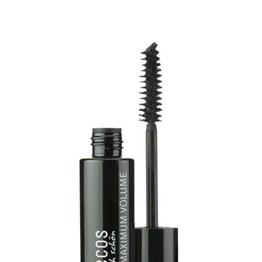 BENECOS NATURAL MASCARA MAXIMUM VOLUME, SMOOTH BROWN