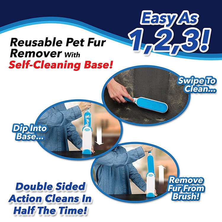 Pet fur removal