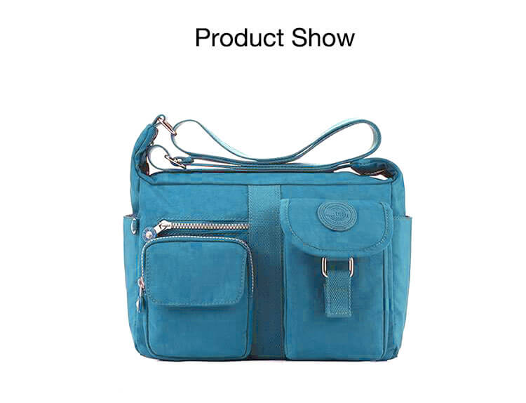 Fashion Casual Nylon Backpack Messenger Bag Shoulder Bag-8