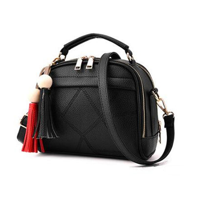 Women Handbag PU Leather Shoulder bags Girls Crossbody Messenger bag