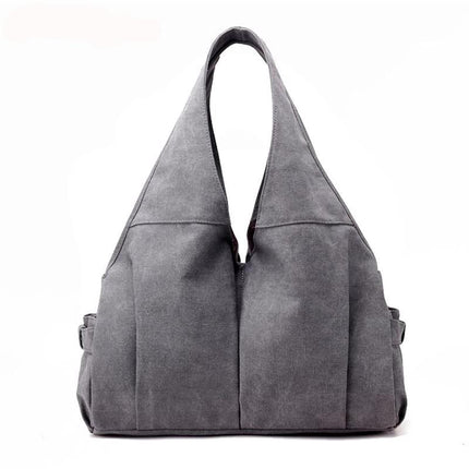 Women Handbag Casual Large Canvas Tote Fashion Shoulder Bag