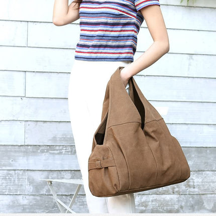 Women Handbag Casual Large Canvas Tote Bag Fashion Shoulder Bag