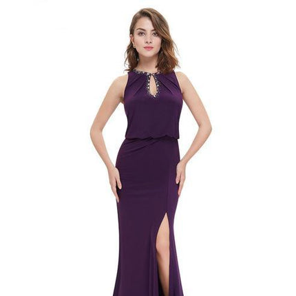 Evening Dress Ever Pretty Elegant Neckline Women Long Sexy Evening Gown Dress