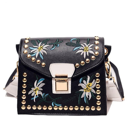 Women Luxury Messenger Bag Flower Handbag Ladies Small Crossbody Bags Shoulder Bags