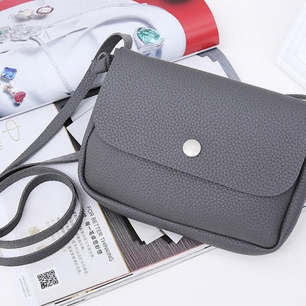Women PU Leather Handbags Small Messenger Bags Crossbody Shoulder Bags Clutch Purse Bag