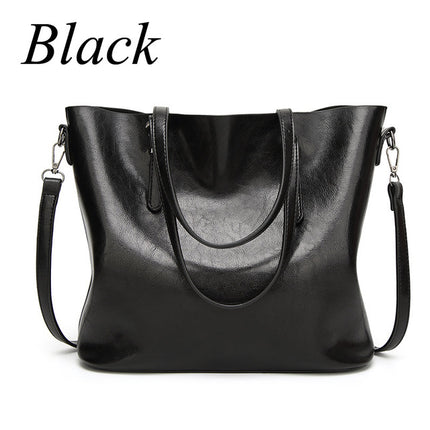 Women Handbags Big Tote Bags Crossbody Bags For Women Leather Handbags Oil Wax Leather Retro bag