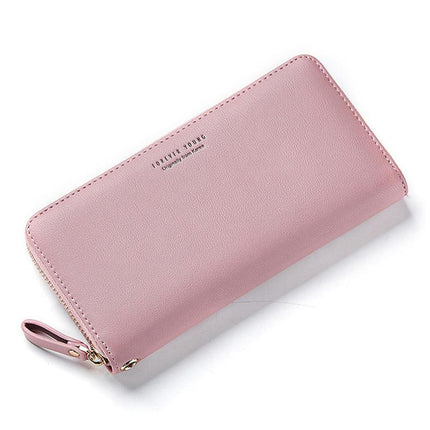 Women Long Clutch Wallet Large Capacity Purse Phone Pocket Card Holder