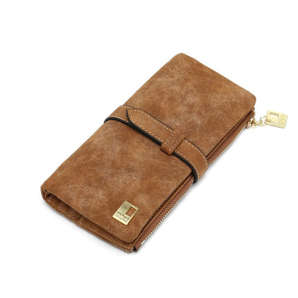 Elegant Women Wallets Luxury Card Wallet Lady PU Leather Purse