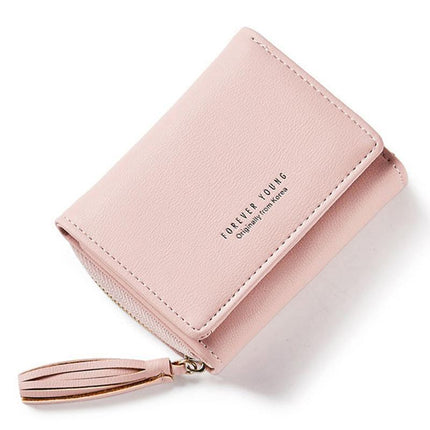 Small Clutch Wallets Coin Purses Card Holders Invoice Pocket PU Leather Female Bag