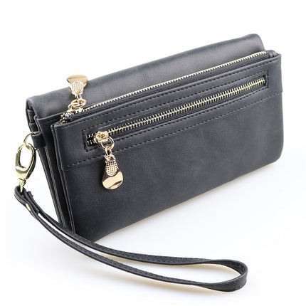 Large Capacity Phone Wallet Wristlet Elegant Women Purse