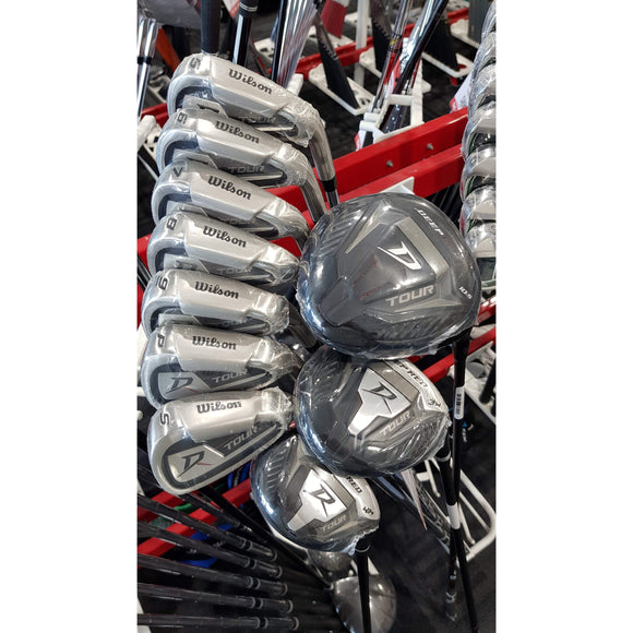WILSON DEEP RED TOUR - SET (FREE DELIVERY) CLICK FOR MEMBERS PRICE-GOLF SETS-The Golf Gurus