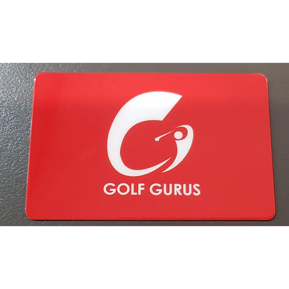 GOLF GURUS GIFT VOUCHERS-GIFT VOUCHER-The Golf Gurus