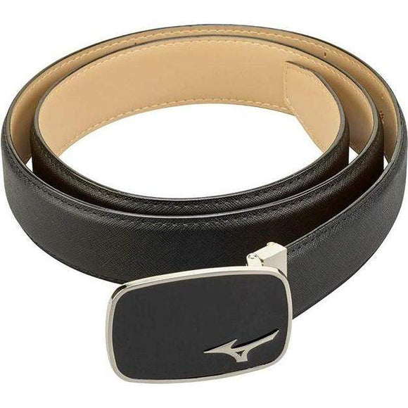 MIZUNO LOGO LEATHER BELT-The Golf Gurus