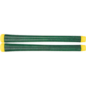 GRIP MASTER KANGAROO SEWN SWINGER GREEN/YELLOW - GRIPS-GRIPS-The Golf Gurus