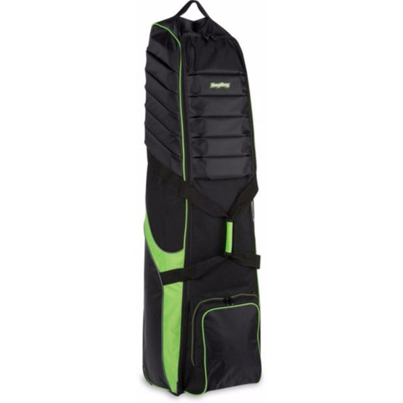 BagBoy T-750 Golf Travel Cover - Black / Lime-GOLF BAG - TRAVEL-The Golf Gurus