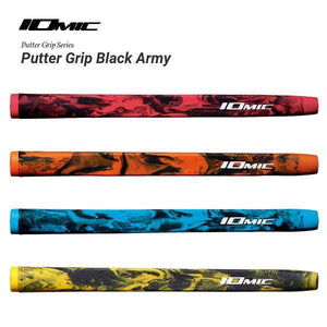 IOMIC BLACK ARMY PUTTER GRIP-GRIPS-The Golf Gurus