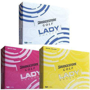BRIDGESTONE LADY PRECEPT GOLF BALLS - (3 OR 6 DOZ) w. FREE Shipping Australia Wide-Golf Balls-The Golf Gurus