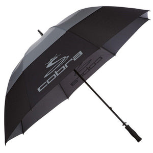 "COBRA STORM 68"" BLK/GRY UMBRELLA-UMBRELLA-The Golf Gurus"