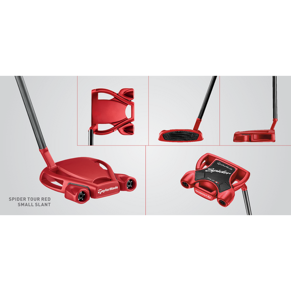 TAYLORMADE TOUR RED PUTTER - RH 35 INCH-The Golf Gurus