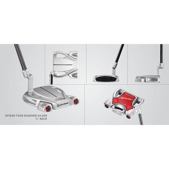 TAYLORMADE TOUR DIAMOND SILVER PUTTER - RH-The Golf Gurus