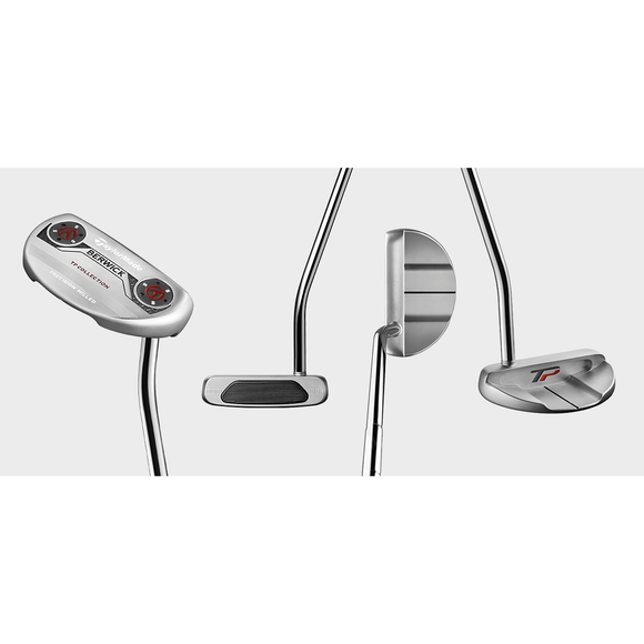 TAYLORMADE TP SILVER PUTTER COLLECTION- 35 INCH (LAMKIN SINK PISTOL GRIP)-The Golf Gurus