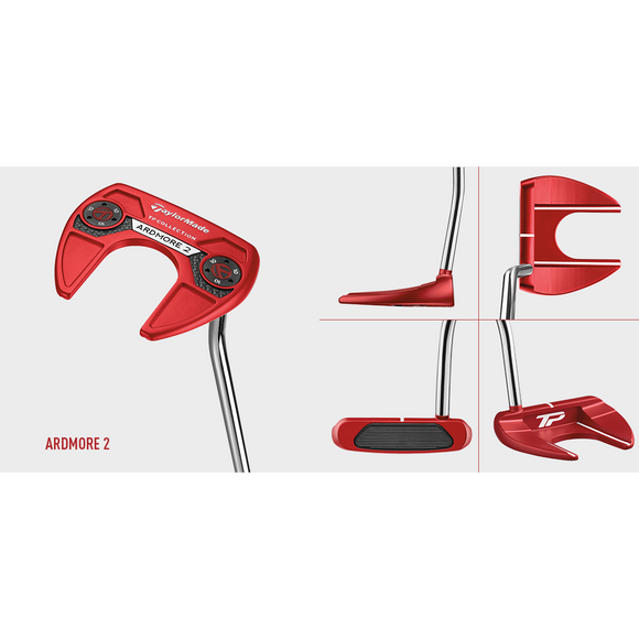 HIRE TM RH TP RED ARDMORE 2 DB PUTTER-The Golf Gurus
