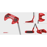TAYLORMADE TP RED PUTTER COLLECTION- 35 INCH (SUPERSTROKE GT 1.0 GRIP)-The Golf Gurus