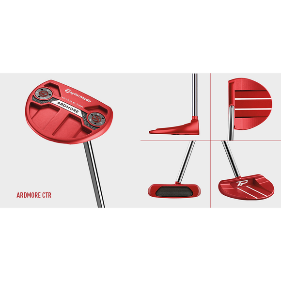 HIRE TM RH TP RED ARDMORE CS PUTTER-The Golf Gurus