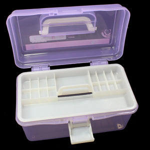 Plastic Storage Nail Art Case