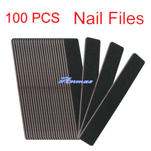 Nail Files - 100/180 (100 pieces)