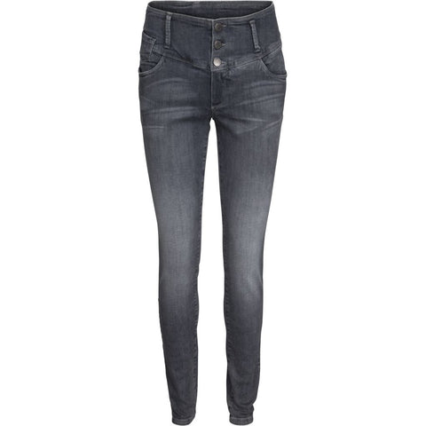 Flora jeans slim - dark grey