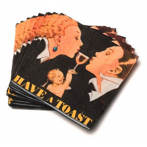 Have A Toast Napkins (Set of 20)