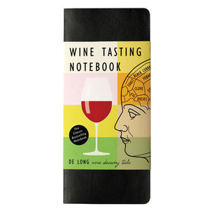 DeLongs Wine Tasting Notebook