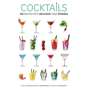 180 Cocktail Recipes with Food Pairings Book
