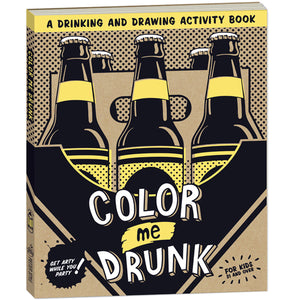 Color Me Drunk Activity Book