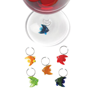 True Glass Angelfish (Stem Charms)