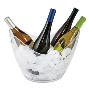 True 4-Bottle Modern Acrylic Ice Bucket