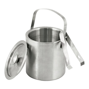 True Classic Ice Bucket With Tongs