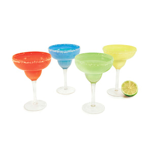 True Fiesta Margarita Glasses (Set of 4)